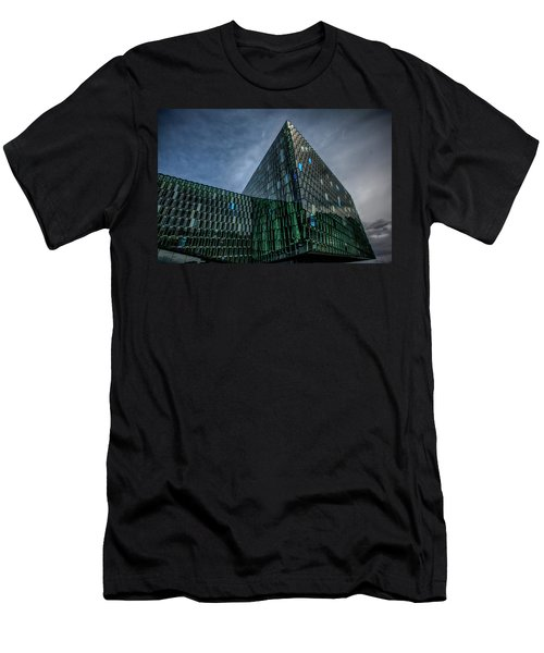 Harpa Men's T-Shirt (Slim Fit) by Wade Courtney