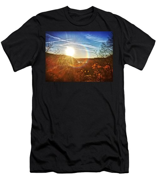 Harpers Ferry Sunset Men's T-Shirt (Athletic Fit)