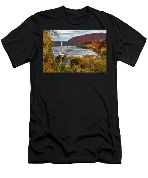 Harpers Ferry, West Virginia Men's T-Shirt (Athletic Fit)