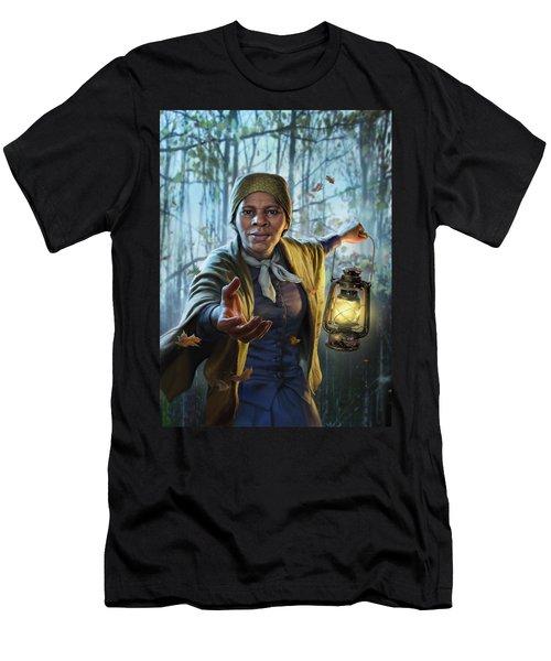 Harriet Tubman Men's T-Shirt (Athletic Fit)