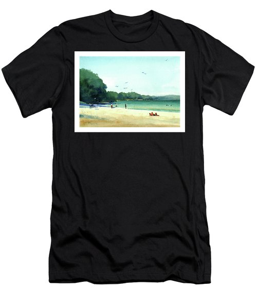 Harrington Beach, Wisconsin Men's T-Shirt (Athletic Fit)