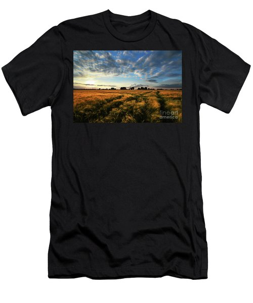 Men's T-Shirt (Slim Fit) featuring the photograph Harvest by Franziskus Pfleghart