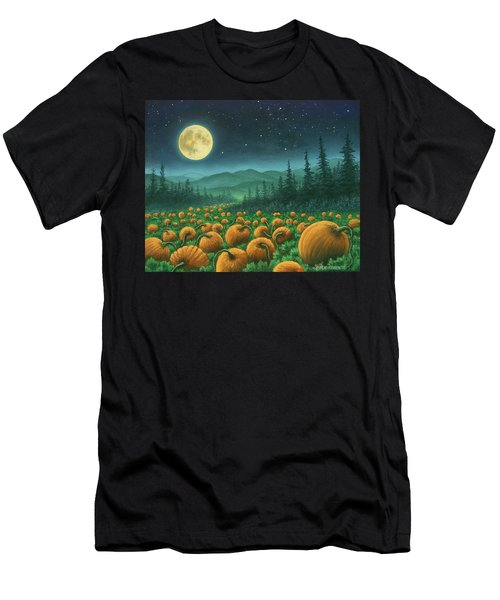 Harvest Moon 01 Men's T-Shirt (Athletic Fit)