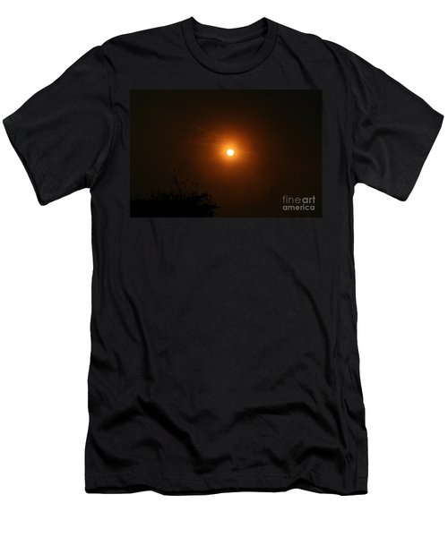 Men's T-Shirt (Athletic Fit) featuring the photograph Harvest Moon by Cynthia Marcopulos