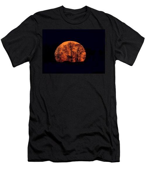 Harvest  Moon Rising Men's T-Shirt (Athletic Fit)