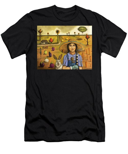Harvey And The Eccentric Farmer Men's T-Shirt (Athletic Fit)