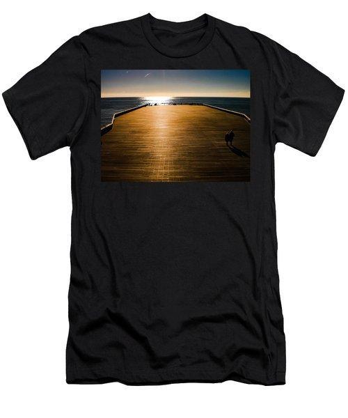 Hastings Pier, Hastings, Sussex, England Men's T-Shirt (Athletic Fit)