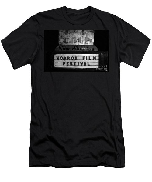 Haunted Drive In Men's T-Shirt (Athletic Fit)