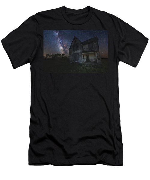 Haunted On The Prairie Men's T-Shirt (Athletic Fit)