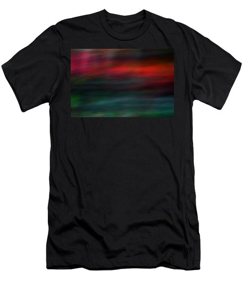 Men's T-Shirt (Slim Fit) featuring the photograph Haunted by Robin Dickinson