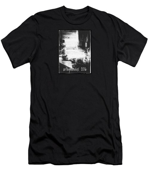 Men's T-Shirt (Slim Fit) featuring the photograph Haunted Room I by Mimulux patricia no No