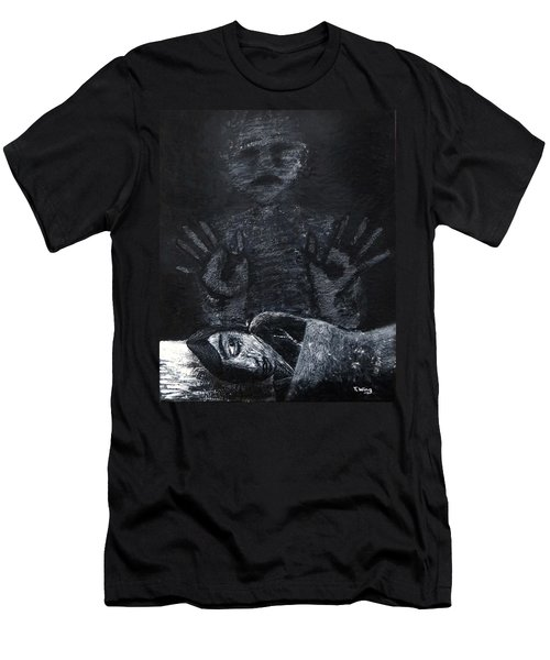 Haunted Men's T-Shirt (Athletic Fit)