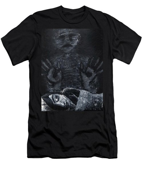 Haunted Men's T-Shirt (Athletic Fit)