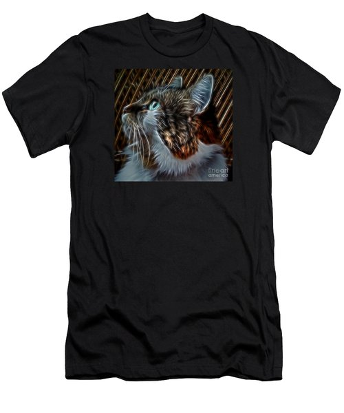 Haunting Stare Men's T-Shirt (Athletic Fit)
