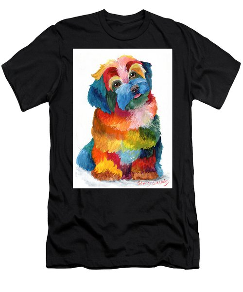 Hava Puppy Havanese Men's T-Shirt (Athletic Fit)