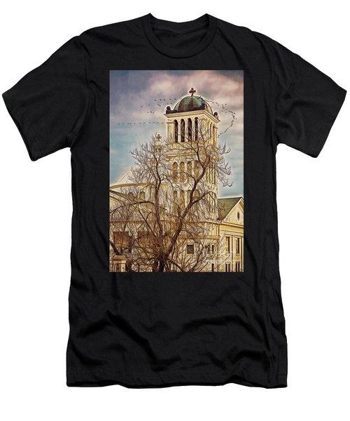 The Church On Oak Street Men's T-Shirt (Athletic Fit)