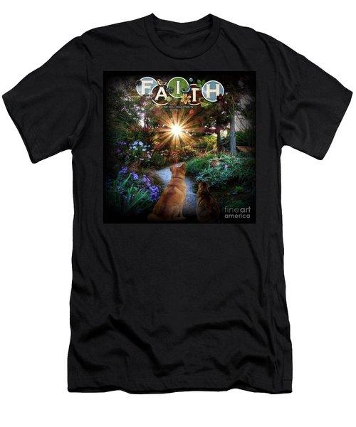 Have Faith Men's T-Shirt (Athletic Fit)
