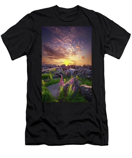 Men's T-Shirt (Athletic Fit) featuring the photograph Have Faith by Phil Koch