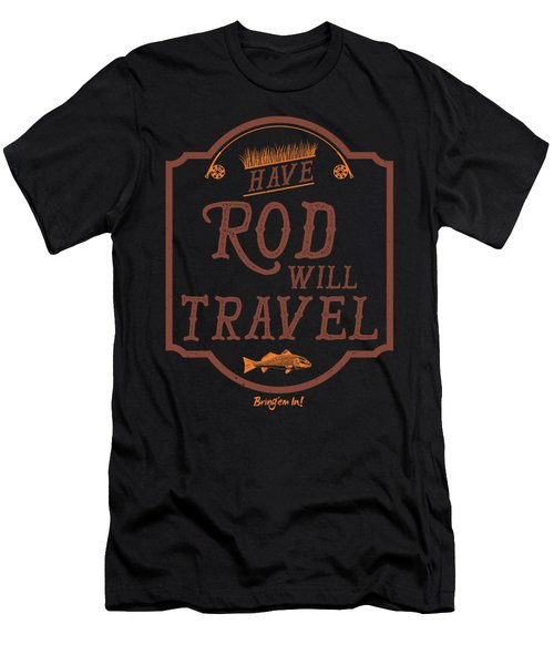 Have Rod Will Travel Backcountry Men's T-Shirt (Athletic Fit)