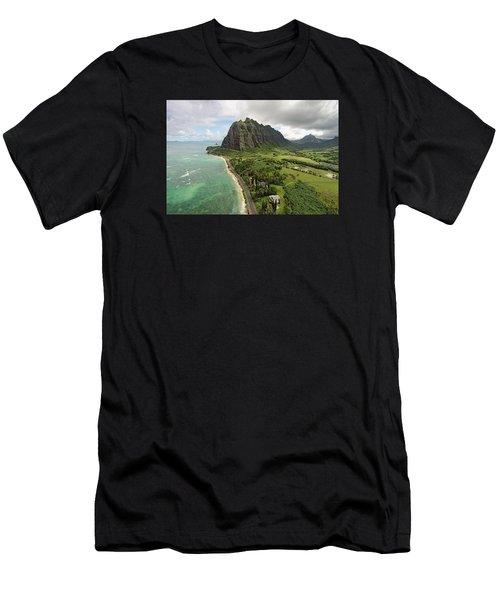 Hawaii Beauty Men's T-Shirt (Athletic Fit)