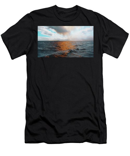 Men's T-Shirt (Athletic Fit) featuring the photograph Hawaii by Lucian Capellaro