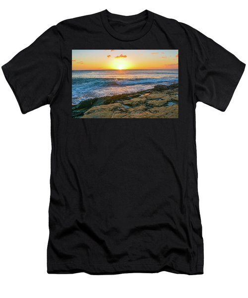 Hawaii Sunset Men's T-Shirt (Athletic Fit)