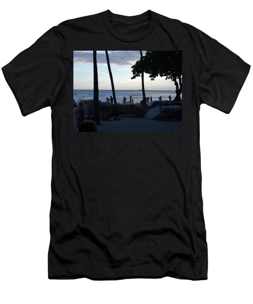 Hawaiian Afternoon Men's T-Shirt (Athletic Fit)