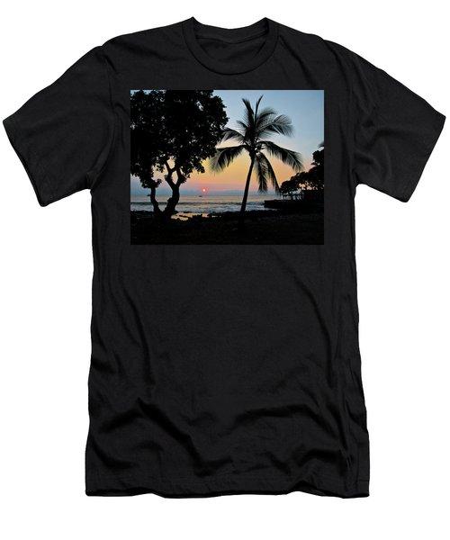 Hawaiian Big Island Sunset  Kailua Kona  Big Island  Hawaii Men's T-Shirt (Slim Fit) by Michael Bessler