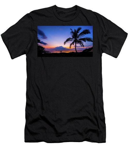 Hawaiian Dawn Colors Men's T-Shirt (Athletic Fit)