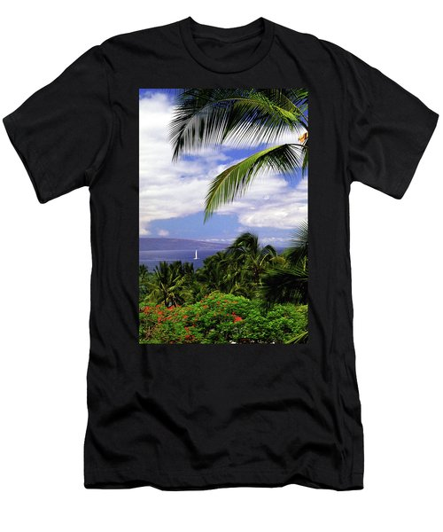 Hawaiian Fantasy Men's T-Shirt (Slim Fit) by Marie Hicks