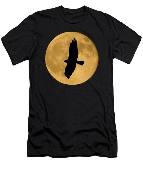 Hawk Silhouette Men's T-Shirt (Athletic Fit)