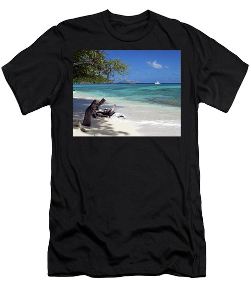 Hawksnest Bay 1 Men's T-Shirt (Athletic Fit)