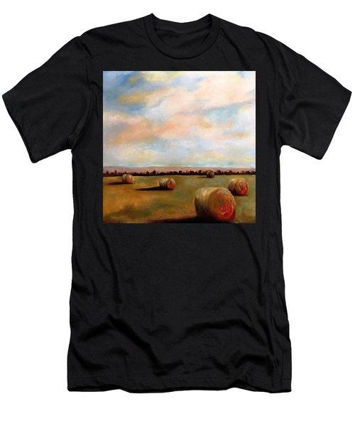 Hay Field Men's T-Shirt (Athletic Fit)