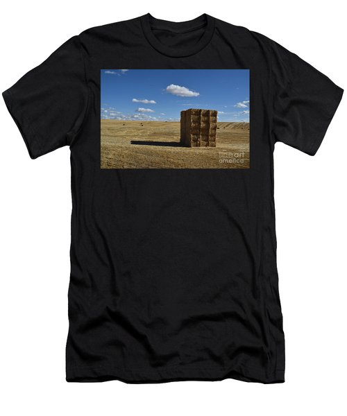 Haystack Off Hwy 2 Men's T-Shirt (Athletic Fit)