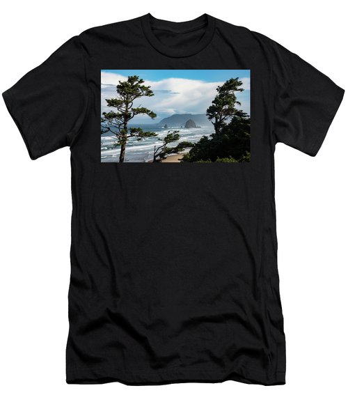 Haystack Views Men's T-Shirt (Athletic Fit)