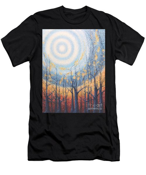 He Lights The Way In The Darkness Men's T-Shirt (Athletic Fit)