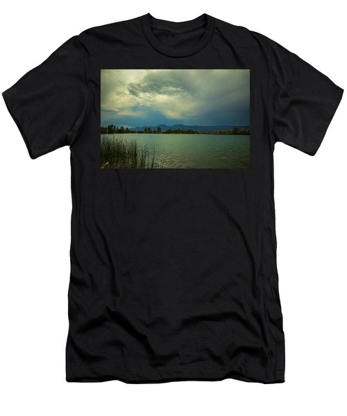 Men's T-Shirt (Athletic Fit) featuring the photograph Head In The Clouds by James BO Insogna