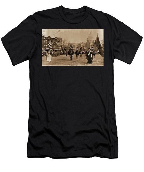 Head Of Washington D.c. Suffrage Parade Men's T-Shirt (Athletic Fit)