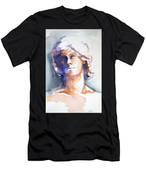 Head Study 1 Men's T-Shirt (Athletic Fit)