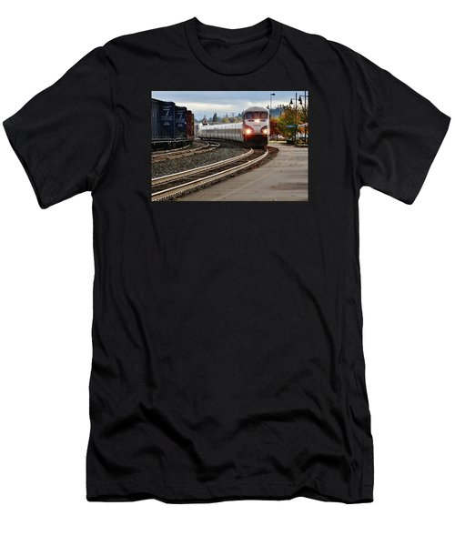 Heading For Portland Men's T-Shirt (Slim Fit) by VLee Watson