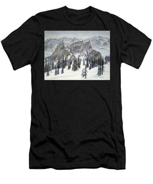 Heading Toward Cache Mountain Men's T-Shirt (Athletic Fit)