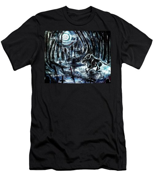 Headless In The Hollow Men's T-Shirt (Athletic Fit)