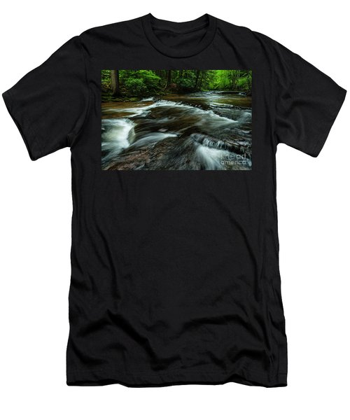 Headwaters Of Williams River  Men's T-Shirt (Athletic Fit)