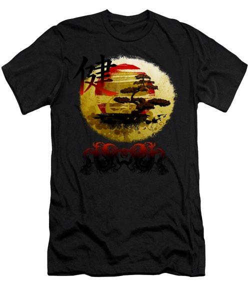 Health Oriental Symbol Men's T-Shirt (Athletic Fit)