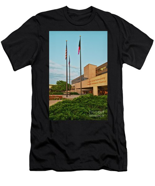 Men's T-Shirt (Athletic Fit) featuring the photograph Health Sciences Medical Center by Mae Wertz