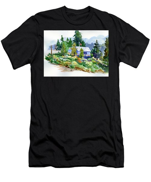 Hearse House Garden Men's T-Shirt (Athletic Fit)