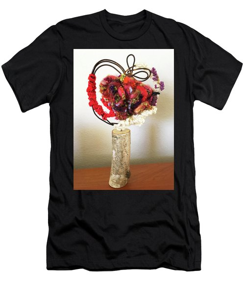 Heart Art Men's T-Shirt (Athletic Fit)
