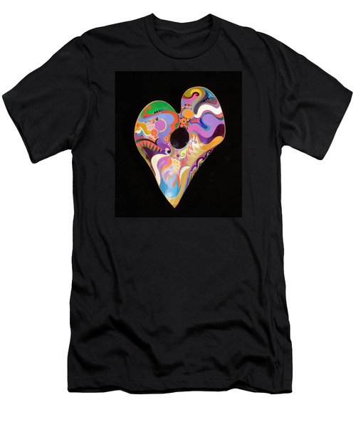 Heart Bowl Men's T-Shirt (Athletic Fit)