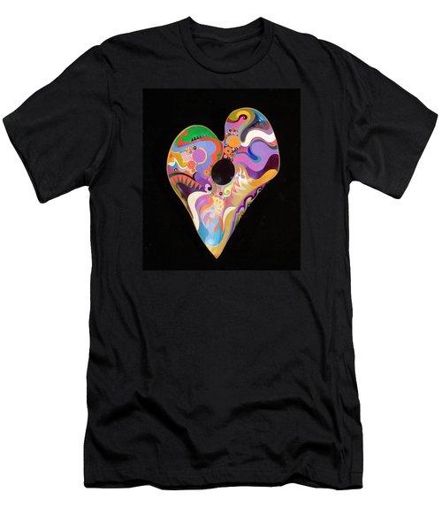 Heart Bowl Men's T-Shirt (Athletic Fit)