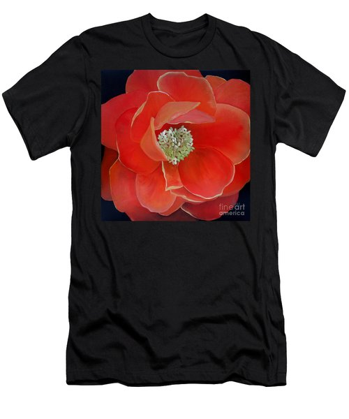 Heart-centered Rose Men's T-Shirt (Athletic Fit)